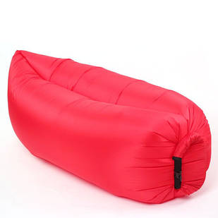 Надувний шезлонг диван мішок Ламзак Lamzac AIR CUSHION Red