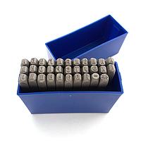 Набор клейм буквенных кириллица 4 мм