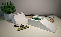 Fingerboard Grass box New Basic Set Handicraft FB, фингерборд парк, фигуры для фингерборда