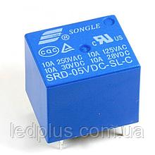 Реле SRD- 5VDC-SL-C 5В 10А