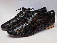 Туфли женские перфорированные