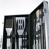 Набір приладдя для барбекю 18 їв. Silver, фото 3