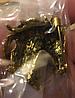 Брошка брошка металева кінь кінь темно золотиста, фото 4