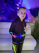 Дитяча світиться вітровка унісекс Tik Tok (Твк Струм ) +маска в подарунок