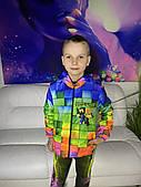 Дитяча світиться вітровка унісекс Minecraft +маска в подарунок