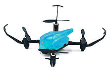 Квадрокоптер детский Wowitoys Space Racer H4816 с удержанием высоты и ИК-боем (синий)