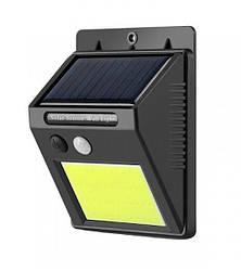 Світлодіодний вуличний світильник на сонячній батареї з датчиком руху SL069 5W IP65 Код.59372