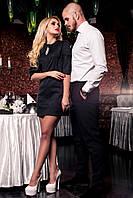 Короткое нарядное платье Шико  42-50 размеры Jadone