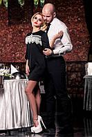 Короткое нарядное платье Мондо  42-50 размеры Jadone
