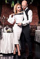 Красивое женское платье Кимберли ТМ Жадон 42-50 размеры Jadone