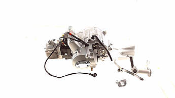 Двигатель (В сборе)  на Мопед Дельта (Deltа), на Мопед Альфа (Alphа) 100 см³ (MКПП 150FMG-A) TZH