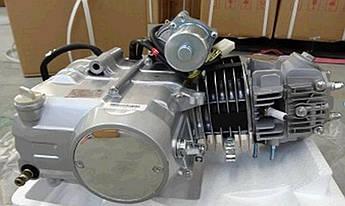 Двигатель (В сборе)  на Мопед Дельта (Deltа) 125 см³ (Автоматическая коробка передач 152FMH, алюминевый