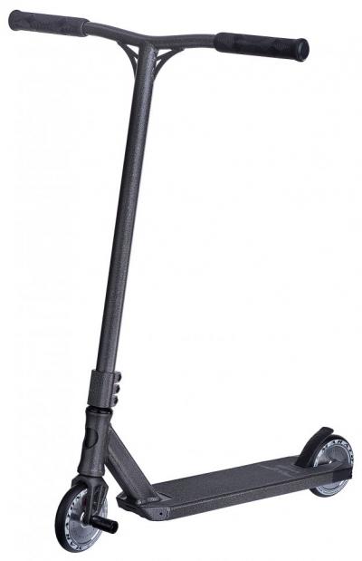 Трюковый Самокат Maraton Wall Ride Серебряные колеса, Peg, колеса 120 мм, Hic