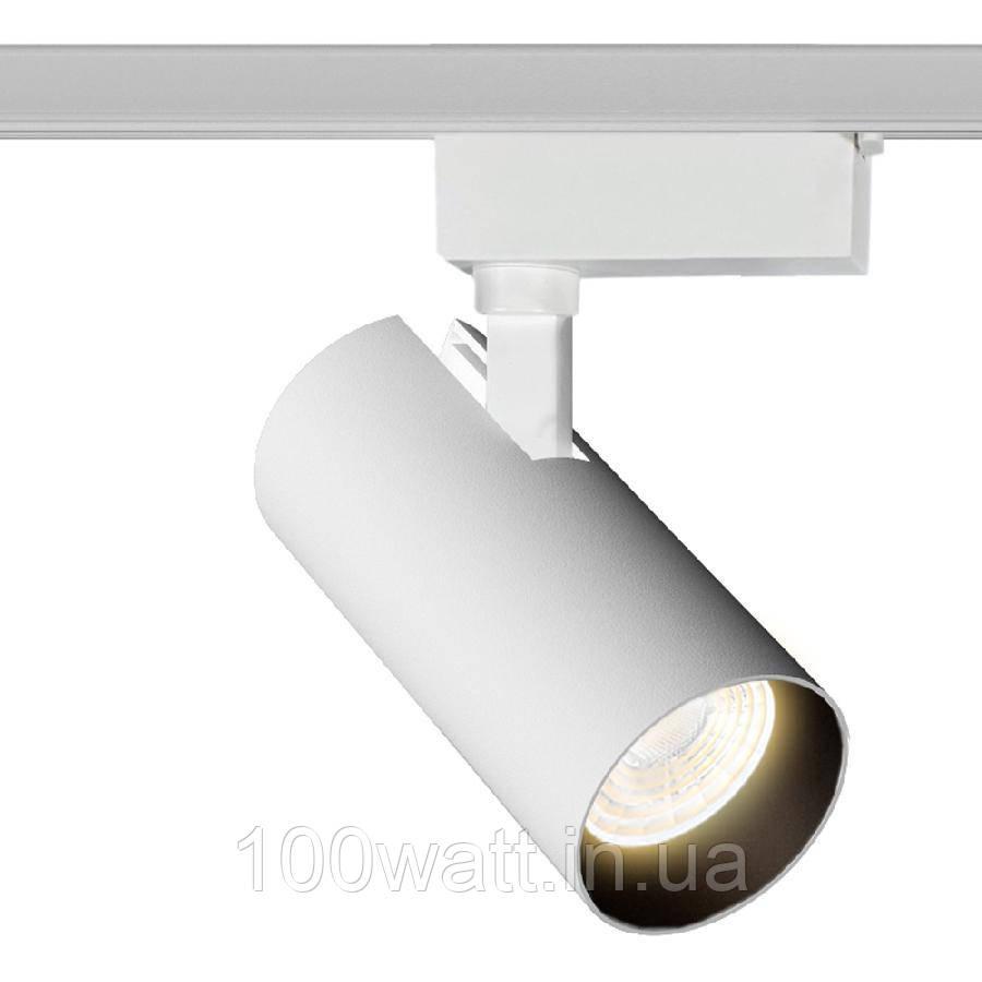 Трековый светильник Accente A-20-01 20Вт 4200К белый