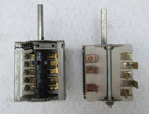 Переключатель для электроплит Электра 1001, 1002, 1006, ПМ 7