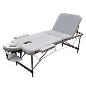 Масажний стіл ZENET ZET-1049 M 185*70*61 Cream