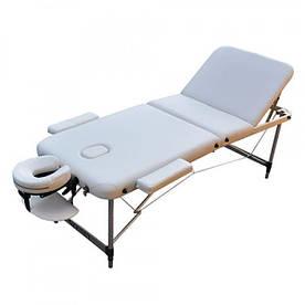 Масажний стіл ZENET ZET-1049 L 195*70*61 Cream (1049/L/CREA)