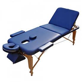 Массажный стол ZENET ZET-1047 L 195*70*61 Синий