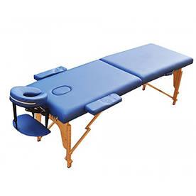 Массажный стол ZENET ZET-1042 M 185*70*61 Синий