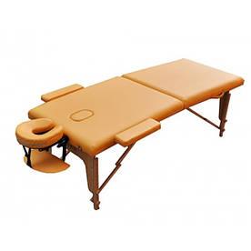 Массажный стол ZENET ZET-1042 M 185х70х64 Желтый