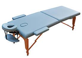 Массажный стол ZENET ZET-1042 L 195х70х61 Голубой
