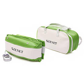 Массажный пояс Zenet ZET-750 Зелено-белый