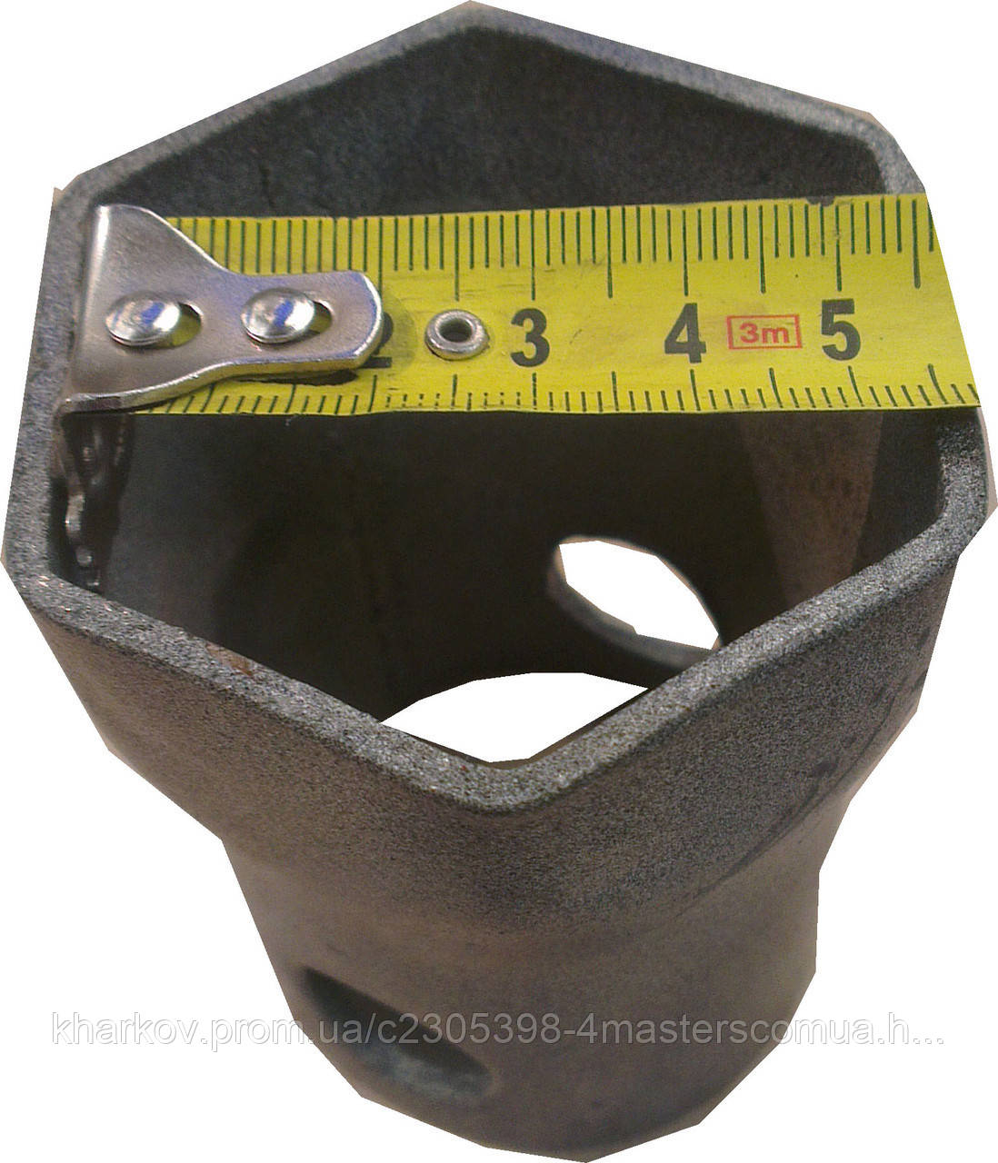 "Торцевая головка под резьбовой фланец тена 1 1/4"" (55мм)"