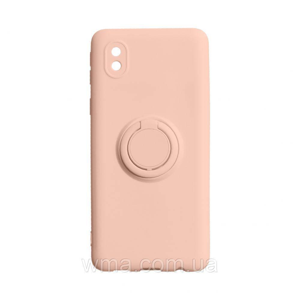 Чохол Ring Color for Samsung A01 Core Колір Персиковий