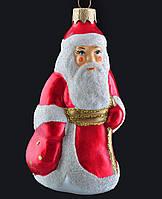 Формовая стеклянная игрушка Дед Мороз