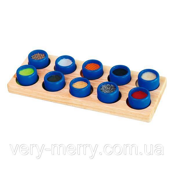 Тактильный сортер Viga Toys Фактуры (58483)