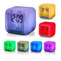 Настольные часы хамелеон Куб, фото 1