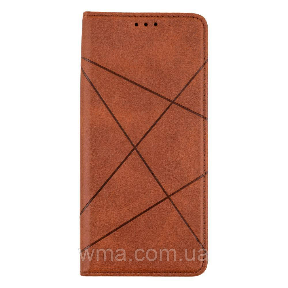 Чехол-книжка Business Leather for Samsung M51 Цвет Коричневый