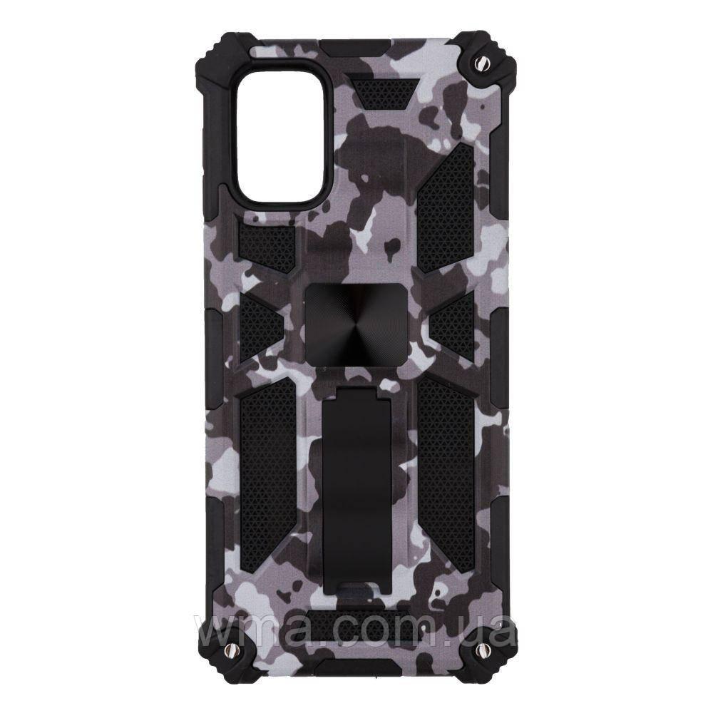 Чохол Shockproof Camouflage for Samsung M31s Колір 6, Сірий