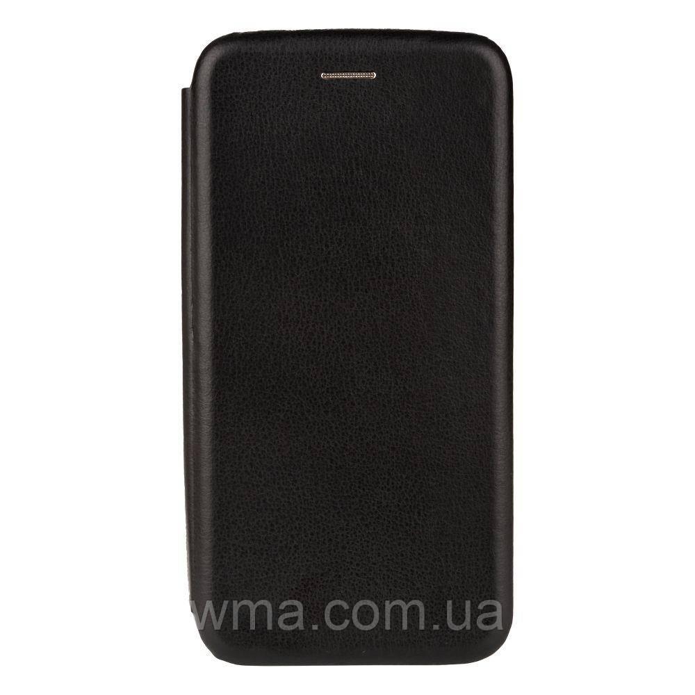 Чохол-книжка шкіра для Meizu Note 8 Колір Чорний