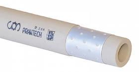 Труба поліпропіленова Prawtech PP-R Stabi алюміній PN25 (110x18.3 мм)