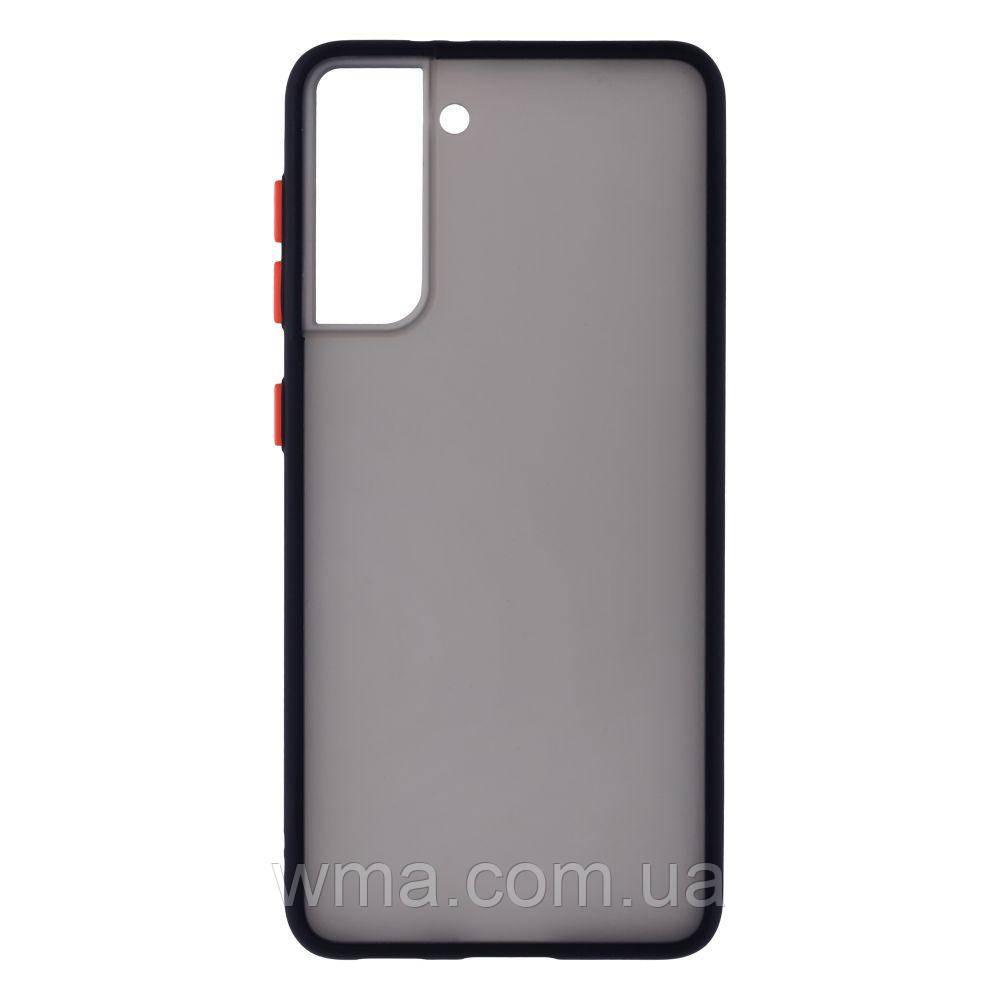 Чехол Totu Copy Gingle Series для Samsung S21 Цвет Чёрный