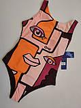 6Купальник  слитный Z.FIVE Пикассо 55179 салат(в наличии  42  44 46 48 50  размеры), фото 3