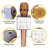 Беспроводной караоке микрофон Q7, фото 3