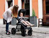 Прогулянкова коляска Lionelo ANNET BLACK CARBON, фото 5