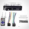 Автомагнітола 1DIN Polarlander JSD 520 Bluetooth магнітола для автомобіля підтримка USB/SD card, фото 2