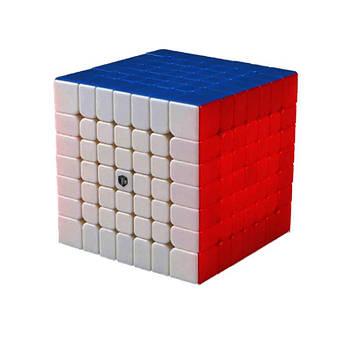 QiYi X-Man 7x7 Spark stickerless Кубик 7x7 без наклейок