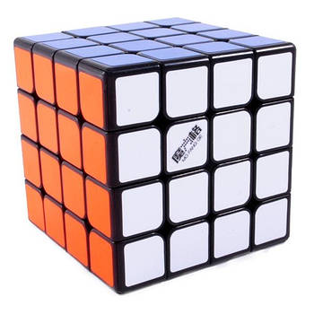QiYi WuQue mini 4x4 black Кубик 4х4 черній