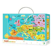 300129 Пазл Мапа Європи, фото 2