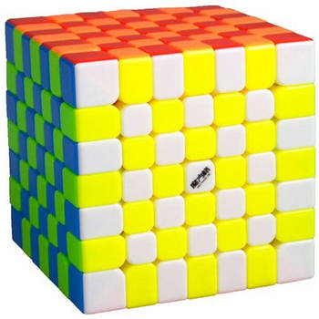 QiYi WuJi 7x7 stickerless Кубик 7x7 без наклейок