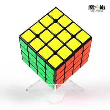QiYi WuQue mini M 4x4 black Кубик 4х4 чорний магнітний