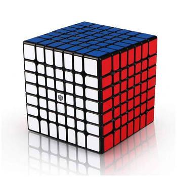 QiYi X-Man 7x7 Spark black Кубик 7x7 чорний