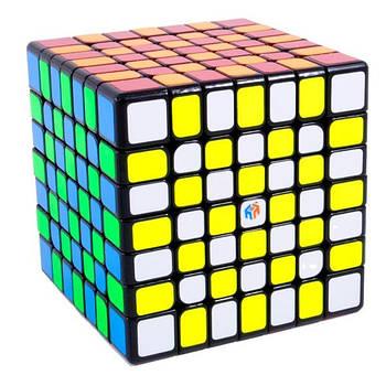 YuXin 7x7 Hays black Кубик Юксін 7x7 чорний