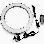 ОПТ Кольцевая LED лампа RGB ring light NY002 26 см для фото и видео съемки профессиональной съемки, фото 8