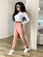 Жіночі стильні базові спортивні штани джоггеры, фото 1