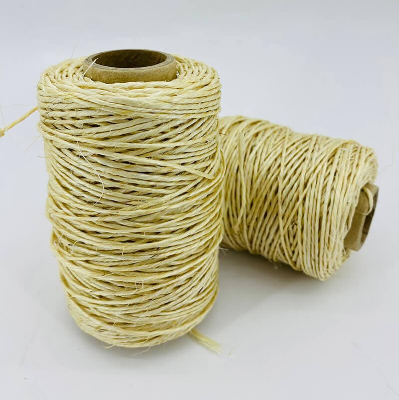 Сизалевая нить для когтеточки светлая 1,5 мм 150 г
